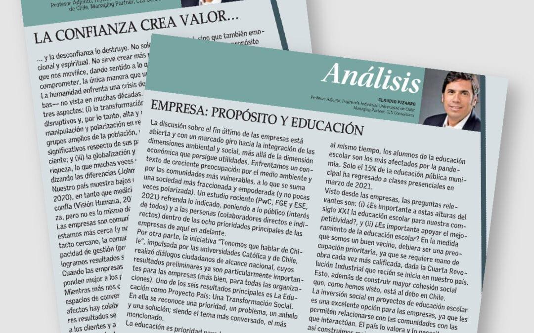 Claudio Pizarro analiza valor de la confianza y la educación
