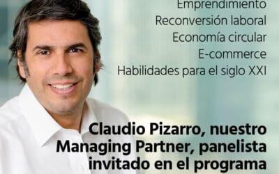 """Claudio Pizarro participa como panelista en Radio Agricultura, programa """"Desafío Digital"""""""